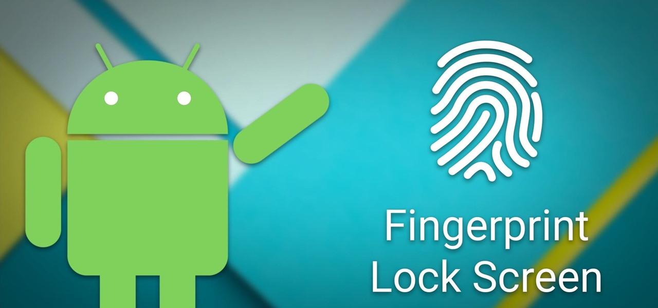 Android Basics: How to Set Up a Fingerprint Lock Screen ...