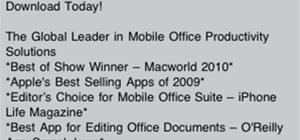 Edit & Share Office Files on iPhone