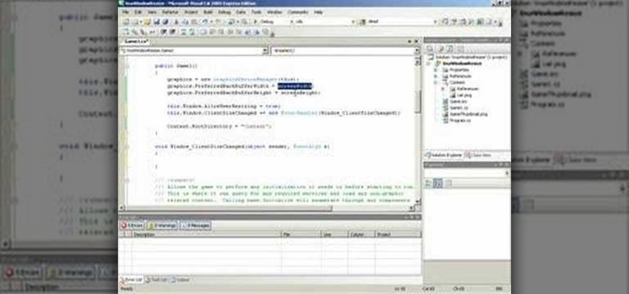 How to respond to an c xna game window resize event c for Window resize