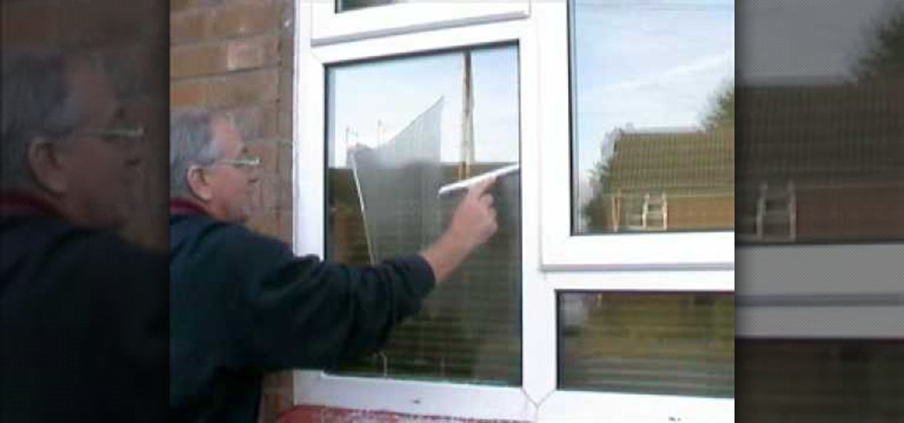 How To Wash Your Windows With A Mop And Squeegee Like A