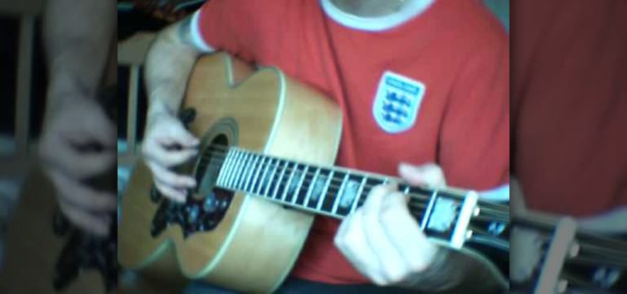 How To Play Sunday Morning Call By Oasis On Guitar Acoustic