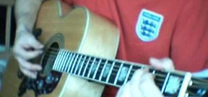 """Play """"Sunday Morning Call"""" by Oasis on guitar"""