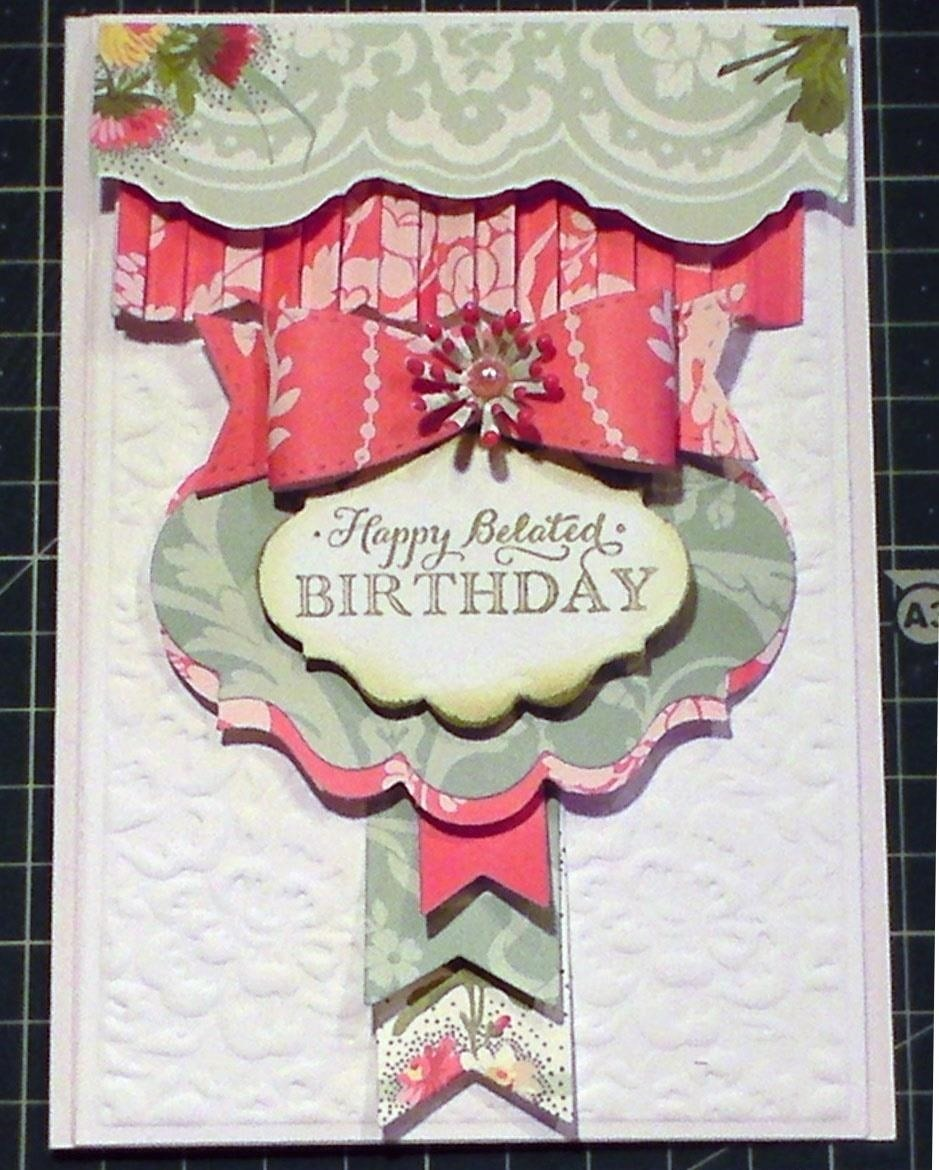 How to Make a French Collection Pretty Banner Card