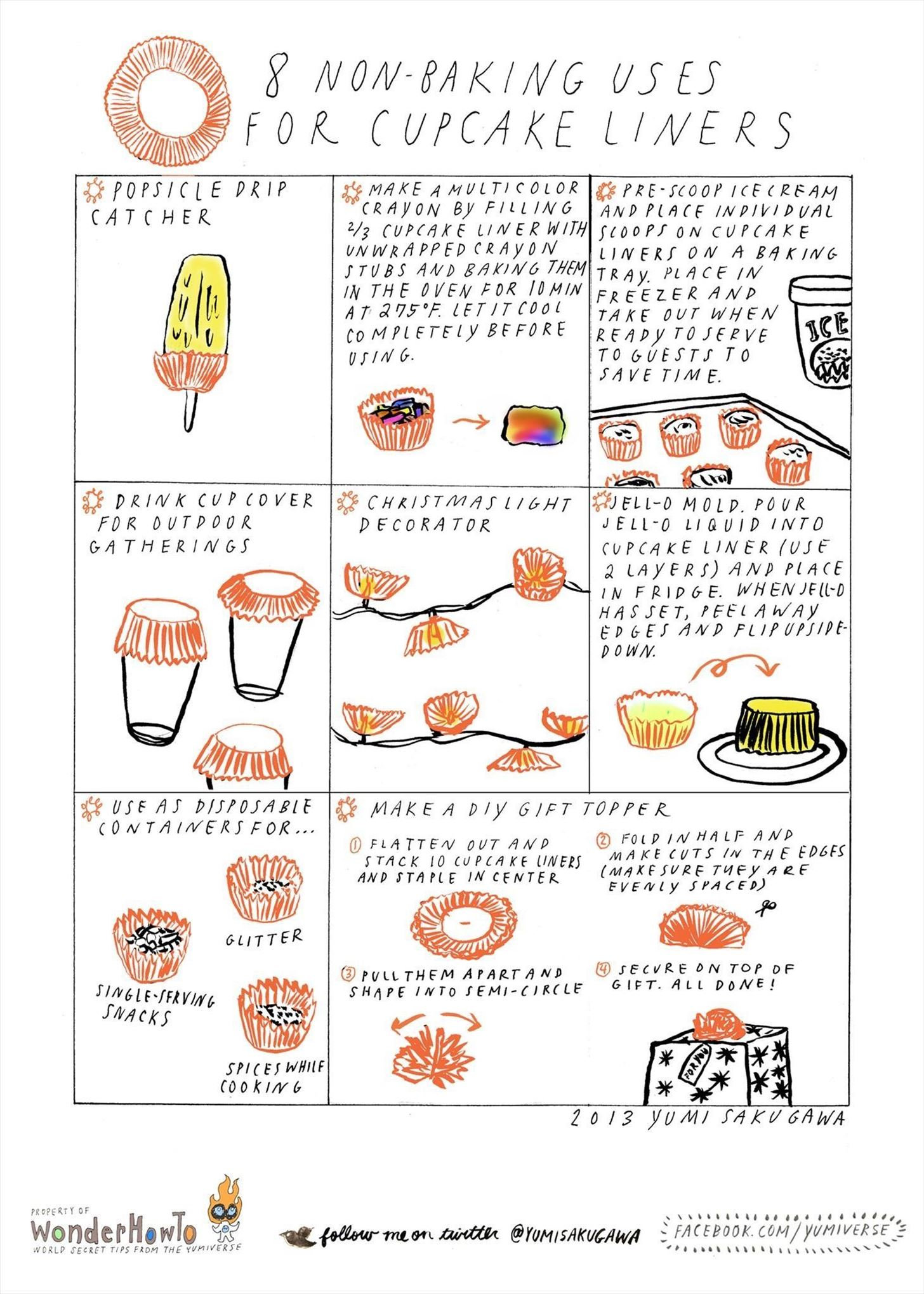 8 Non Baking Uses For Cupcake Liners 171 The Secret
