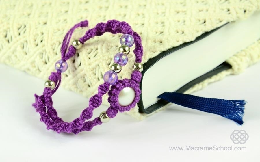 How to Make a Macrame Double Bracelet