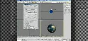 Blow up a planet using particle array in Autodesk 3DS Max