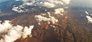 Aerial Panorama of Arizona (I think) from a 737