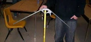 Make a three-point saddle conduit bend