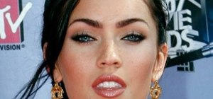 Apply Megan Fox inspired make up