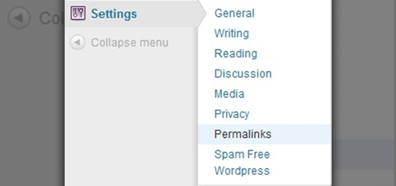 Add Permalinks in WordPress