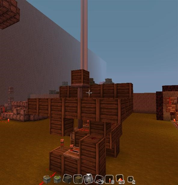 My redstone elevators