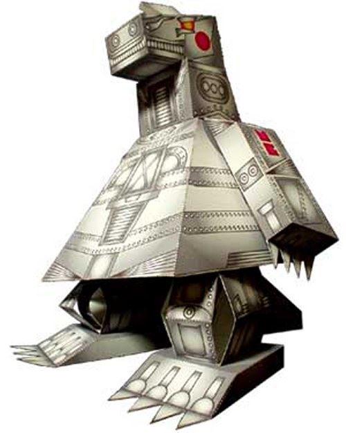50 FREE Papercraft Robot Downloads