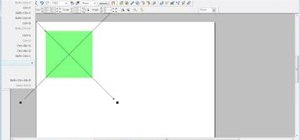 Create bevels in Xara Web Designer