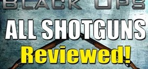 Fight effectively with a shotgun in Call of Duty: Black Ops multiplayer mode