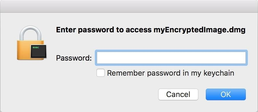 Mac for Hackers: How to Create an Encrypted Disk Image
