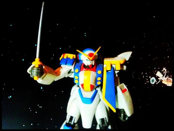 Toy Challenge: Gundam! Is that a new model?
