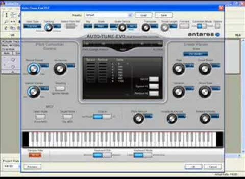 Get auto-tune (T-Pain effect) in Audacity on a PC