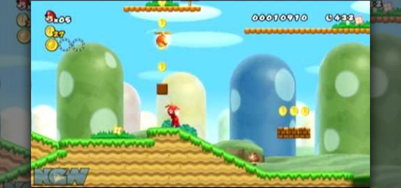 Super Mario Bros Level Backgrounds New Super Mario Bros Wii