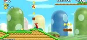 Get all three star coins in World 1-1 in New Super Mario Bros Wii
