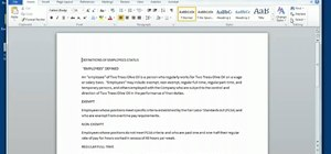 Use the Ribbon interface in Microsoft Office Word 2010
