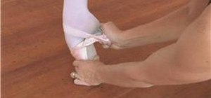 Break in a pair of pointe shoes