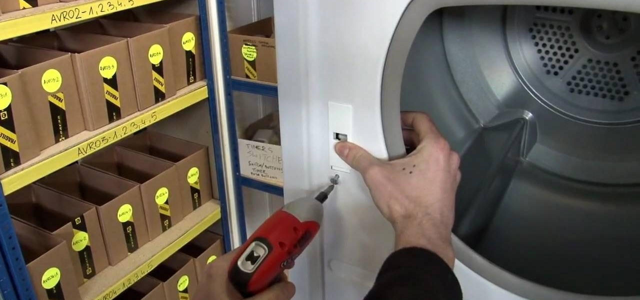 How To Replace The Catch And Latch On A Hotpoint Dryer