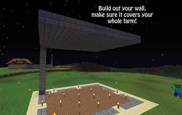 How to build a tree farm in minecraft for easy access to for Easy things to build