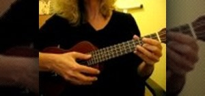 Play a Spanish piece on the ukulele