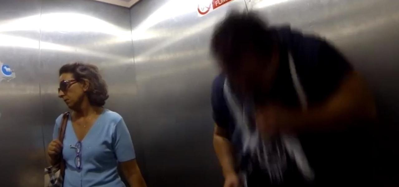 Epic Elevator Sneeze Prank