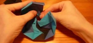 Origami a nine sided box (nonagon)