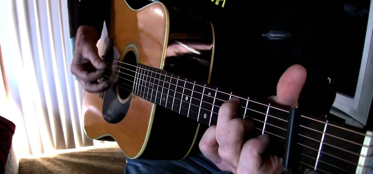 how to play tell me why by neil young on acoustic guitar acoustic guitar wonderhowto. Black Bedroom Furniture Sets. Home Design Ideas