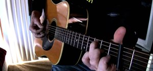 "Play ""Tell Me Why"" by Neil Young on acoustic guitar"