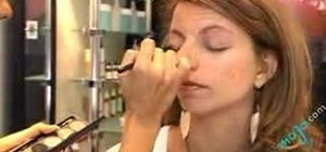 Apply a night time eye shadow