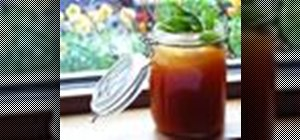 Mix a Lawn Party cocktail w/ rye whiskey & Pimms No. 1
