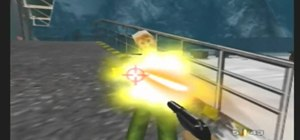 Play using the cheats in GoldenEye 007 on N64