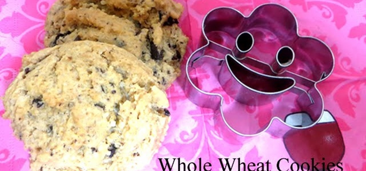 Make Whole Wheat Cookies with Kids