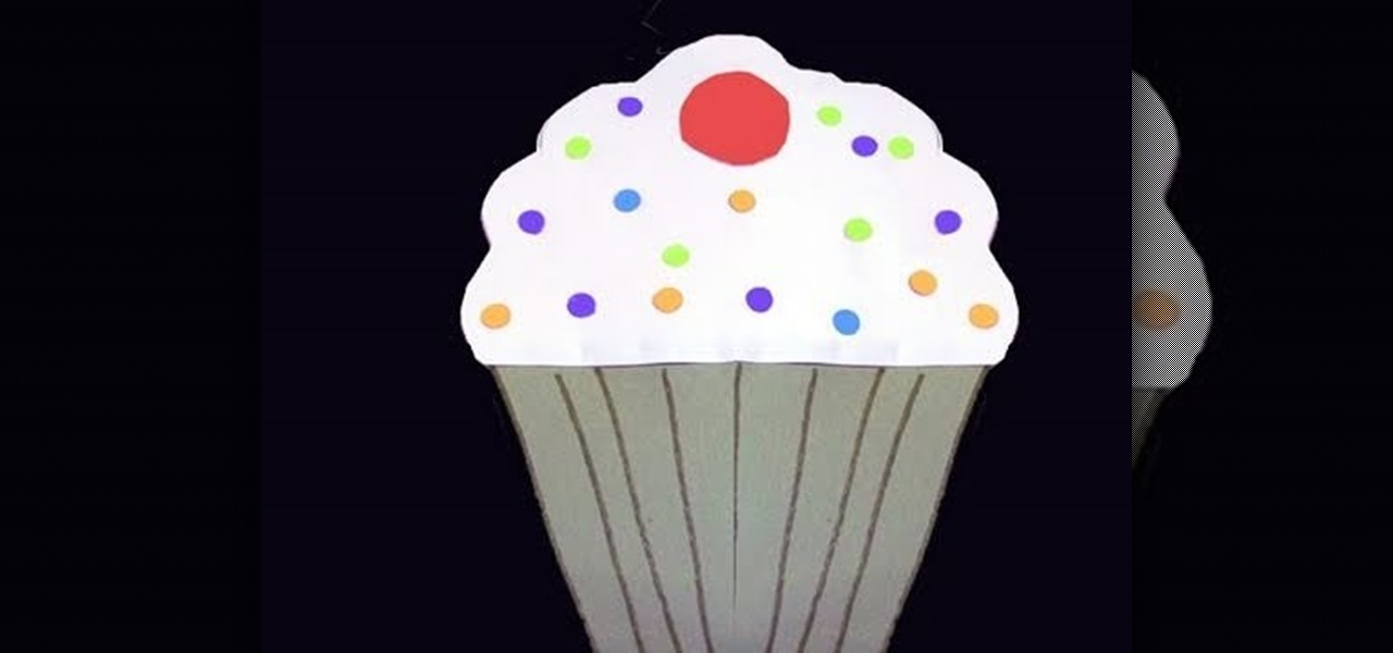 How To Make A Cupcake Out Of Colored Construction Paper Kids
