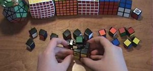 Disassemble and reassemble the Rubik's Cube puzzle