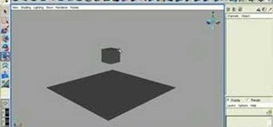 Create rigid bodies in Maya dynamics