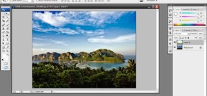 Enhance a photo in Photoshop