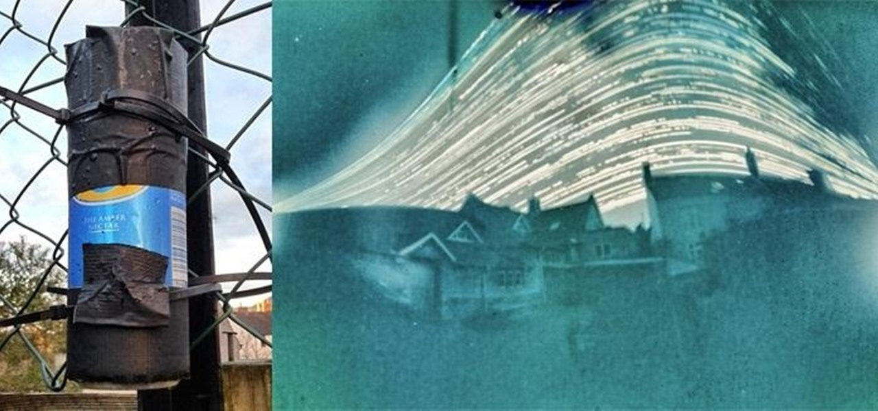 Take Long-Term Pinhole Exposures Using a Beer Can Camera