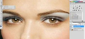 Apply eyeshadow and blush using Adobe Photoshop