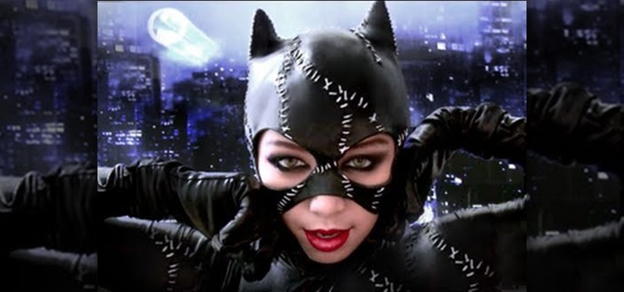 How To Create An Alluring Halloween Batman Catwoman Makeup