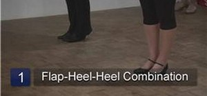 Do advanced tap dance steps
