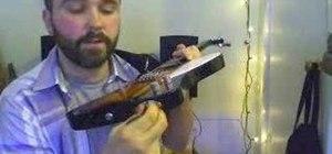 Convert a Epiphone Mandobird into a ukulele