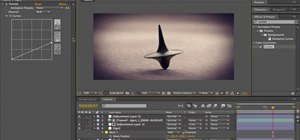 Animate the spinning top from Inception in Adobe After Effects