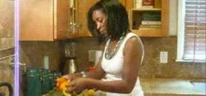 Cook an asparagus stir fry