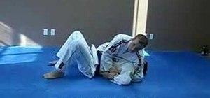 Do a Jiu Jitsu Kimura lock from a side control