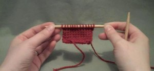 Do an English SSK or slip-slip-knit decrease stitch