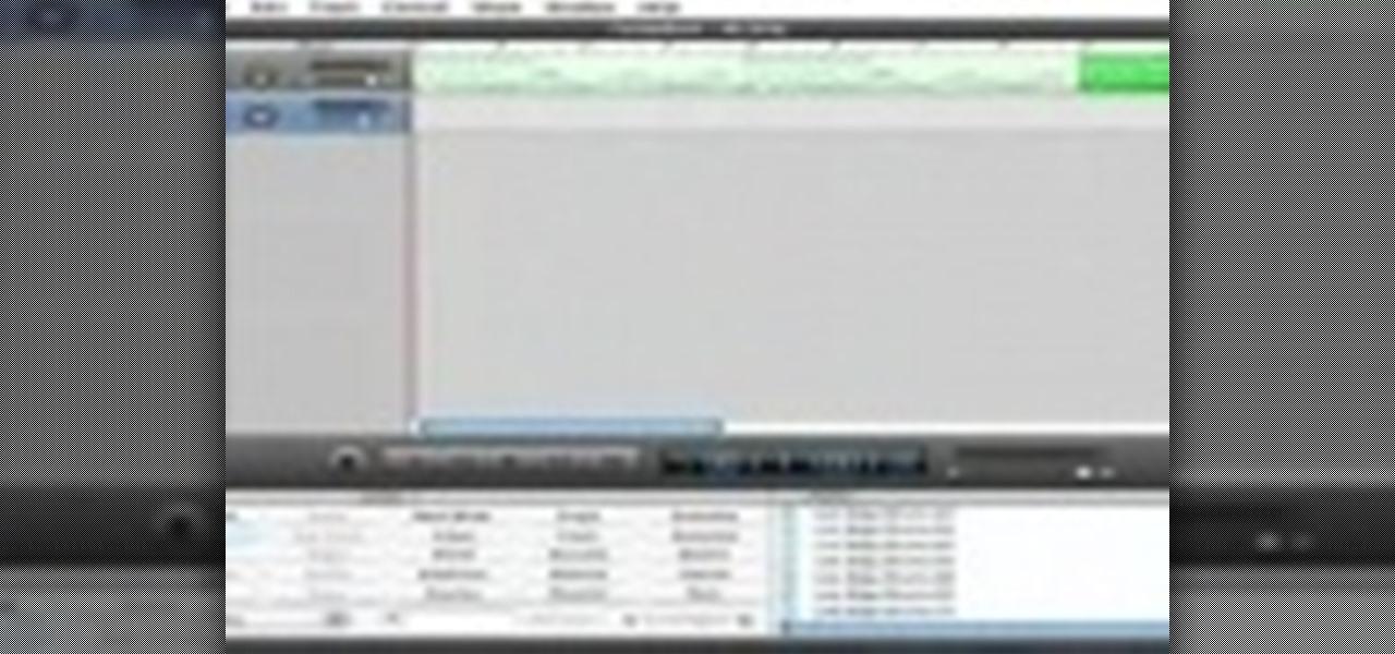 How to Make your own music beats in GarageBand « GarageBand